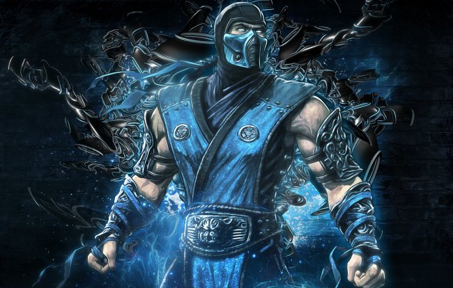 mortal kombat,backgrounds,sub zero,video game