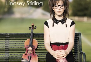 lindsey stirling,девушка,album cover final,скрипка