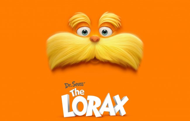 усы,the lorax,лоракс