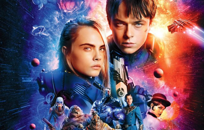 космос,фантастика,валериан и город тысячи планет,valerian and the city of a thousand planets