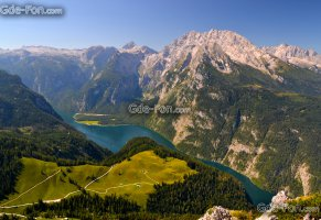 alps,озеро кёнигсзе,berchtesgaden alps,берхтесгаденские альпы,горы,озеро,панорама,германия,bavaria,knigssee lake,germany,бавария,альпы