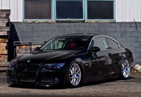bmw,building,325i,windows,e92,black,черный,бмв